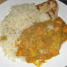 Sweet Potato and Pineapple Korma