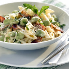 Herbed Penne and Cucumber Salad