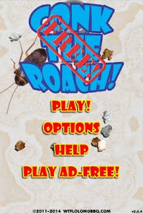 Conk The Roach! Free - screenshot
