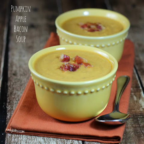 Pumpkin Apple Bacon Soup