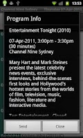 Screenshot of Australia TV Time Pro