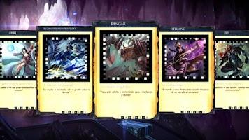 Screenshot of League of Legends Battle Cards