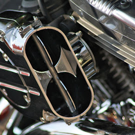 Engine by Dean Thorpe - Transportation Motorcycles