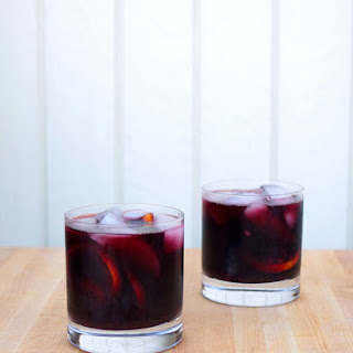 Burnt Sage and Blackberry Sangria for Two