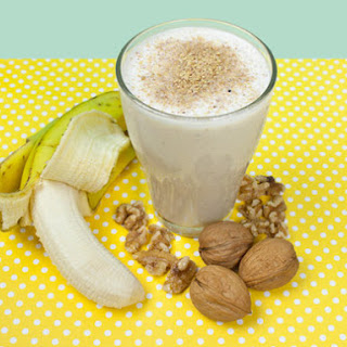 Walnut and Banana Smoothie
