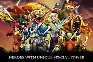 Screenshot of Legendary Heroes