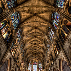 Sainte-Chapelle 4 by Ben Hodges - Buildings & Architecture Places of Worship