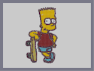 Thumbnail of the map 'Bart Simpson'