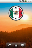 Screenshot of Mexico Clock