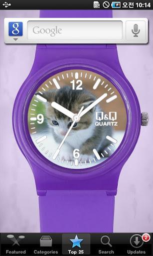 QQwatch 시계 Live wallpaper