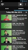 Screenshot of XFM Radio App