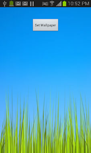 Live Grass Wallpaper - screenshot