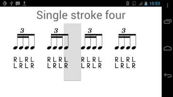 Screenshot of Rude - Drum Rudiment Training