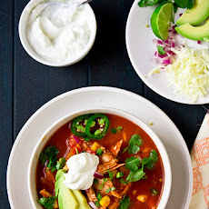 Texas Chicken Tortilla Soup