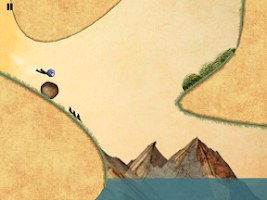 Screenshot of Wingsuit Stickman