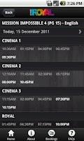 Screenshot of Cine Royal