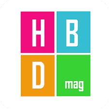 Happy Birthday Magazine Frame