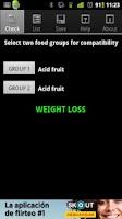 Screenshot of Dissociated Diet Free