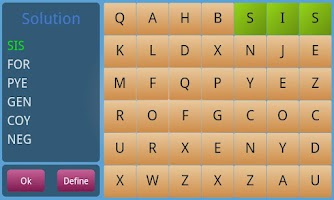 Screenshot of Word finder expert