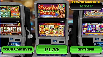 Screenshot of Brazilian Beauty Slot Machine