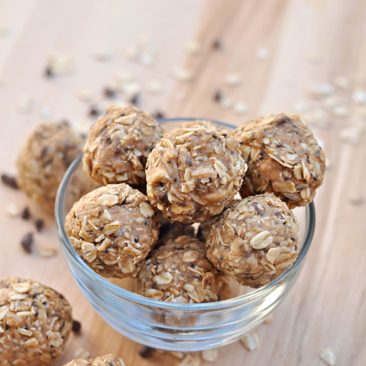 Peanut Butter Oatmeal Energy Bites Recipe | Yummly