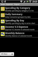 Screenshot of Smart Money/Expense