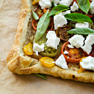 Tomato and Feta Tart