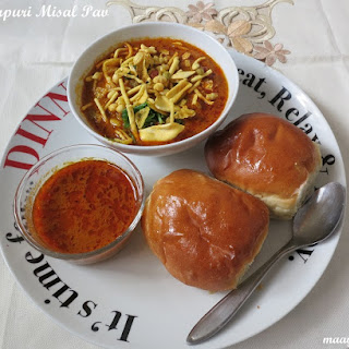 Authentic Maharashtrian Misal Pav