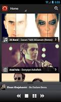 Screenshot of Radio Javan