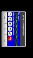 Screenshot of Powerball Scanner Lite