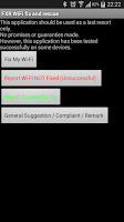 Screenshot of FXR WiFi fix and rescue