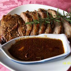Honey, Rosemary And Lemon Roast Lamb