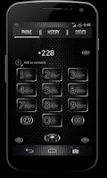 Screenshot of CM10 JB Theme: BLACK CARBON