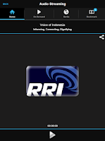 Screenshot of RRI Play