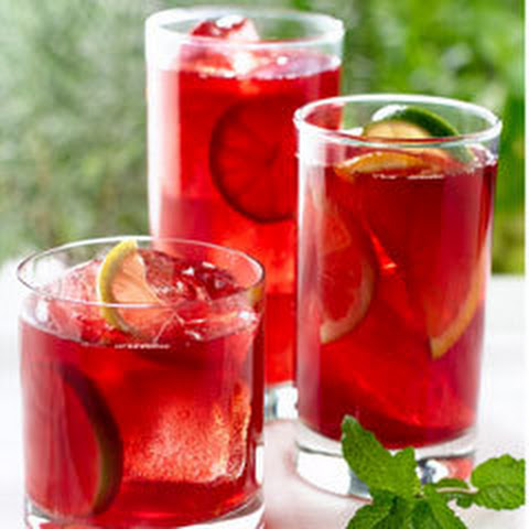 Sparkling Pomegranate Tea Punch