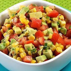 Corn, Tomato, and Avocado Salsa
