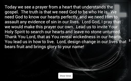 Verse-A-Day Bible Verses - screenshot