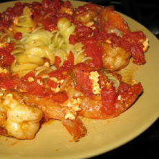 Greek-Style Shrimp With Rigatoni