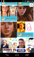 Screenshot of french girls drawing Viewer