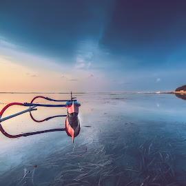 blue hour by Dek . - Landscapes Sunsets & Sunrises