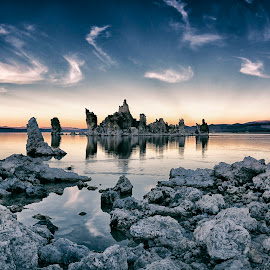 Mono Lake by Robert Fawcett - Landscapes Travel ( lee vining, mono lake, california, landscapes,  )