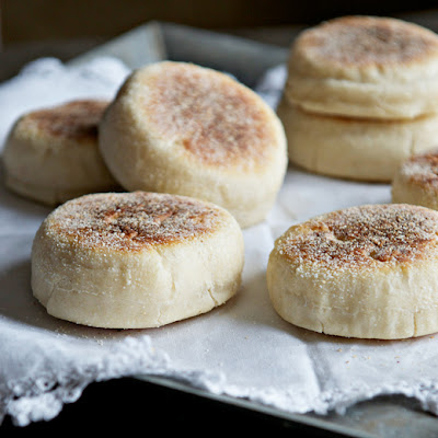 Homemade English Muffins for the Bread Machine