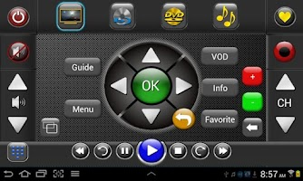 Screenshot of TS GR Home Universal Remote