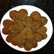 Vegan Gingerbread Cut-Out Cookies
