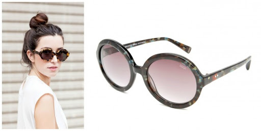 Round, women's sunglasses- Gigi Barcelona