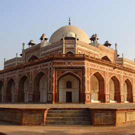 Hyumaun Tomb by Thariq Mohamed - Buildings & Architecture Statues & Monuments ( mugal built, historicalplace, beautiful, hyumaun tomb, india, public, delhi )