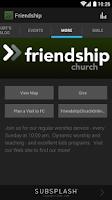 Screenshot of Friendship Church