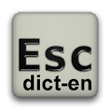English completion dictionary icon