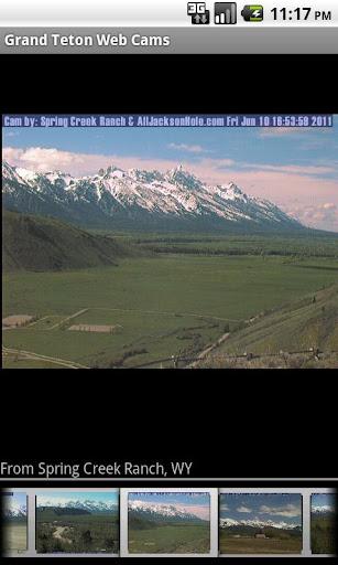 Grand Teton Web Cams