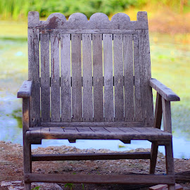 Loneliness by Deepthi Kolluri - Artistic Objects Furniture ( chair, lonliness, peace, furniture, Chair, Chairs, Sitting,  )